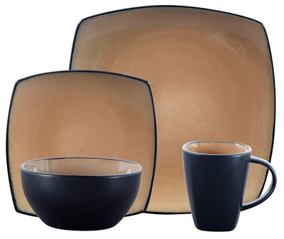 1. Gibson Elite Soho Lounge Dinnerware Set