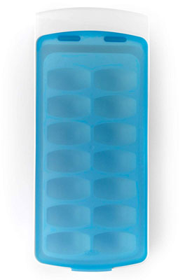 6. OXO No-Spill 8.8oz Ice Cube Tray with Silicone Lid