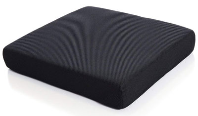 10. Milliard Memory Foam Seat Cushion with Removable Cover