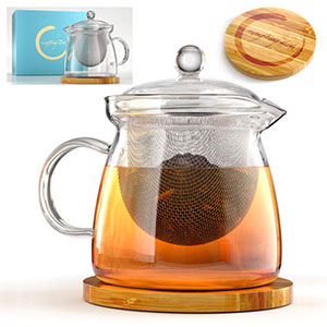 7. Everything Zen Teapot and Infuser Set