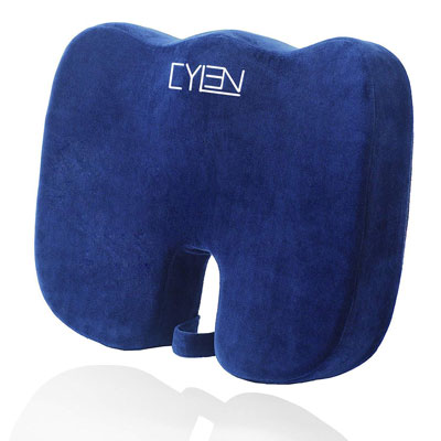 8. CYLEN Orthopedic Seat Cushion for Car