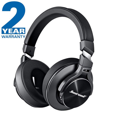 9. TOWAYS Hiercool Bluetooth Wireless Noise Cancelling Headphones - Black