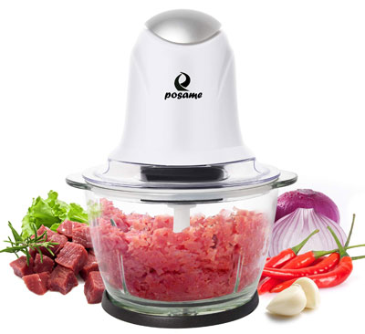 9. POSAME Meat Grinder Electric Food Processor