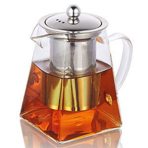 9. PluieSoleil 750ml/26.41oz Teapot with Infuser
