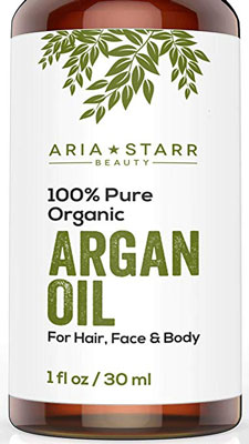 3. Aria Starr Beauty Organic Argan Oil