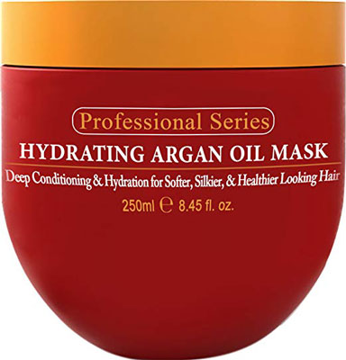 4. Arvazallia Argan Oil Hair Mask and Deep Conditioner – 8.45 Oz