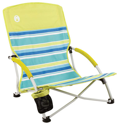 4. Coleman Utopia Breeze Beach Sling Chair