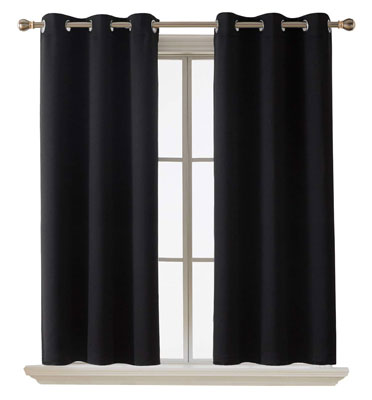 3. Deconovo Thermal Insulated Curtain for Living Room