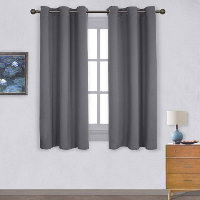 1. NICETOWN Thermal Insulated Grommet Blackout Curtains for Bedroom