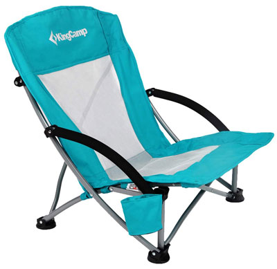 3. KingCamp Low Sling Beach Folding Chair