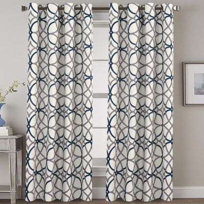 7. H.VERSAILTEX Blackout Curtains for Bedroom