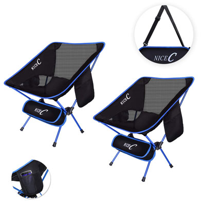 9. Nice C Portable Backpacking Chair