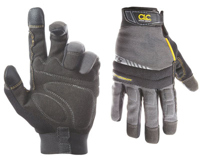 1. Custom Leathercraft 125M Flex Grip Gloves