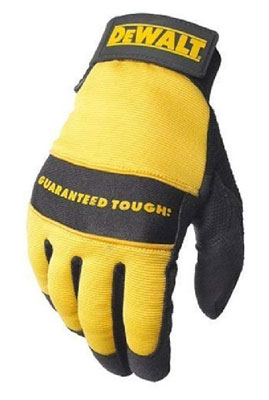 9. Dewalt DPG20L All Purpose Wrist Work Glove