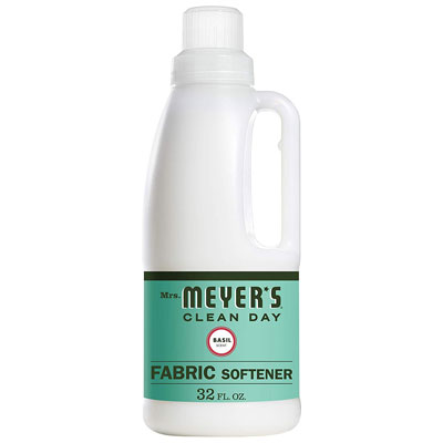 8. Mrs. Meyer's 32 Fl. Oz Fabric Softener Basil