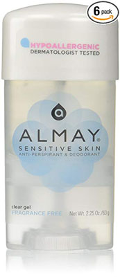 9. Almay Sensitive Skin Clear Gel (Pack of 6)