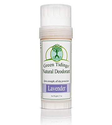 1. Green Tidings Lavender Natural Deodorant