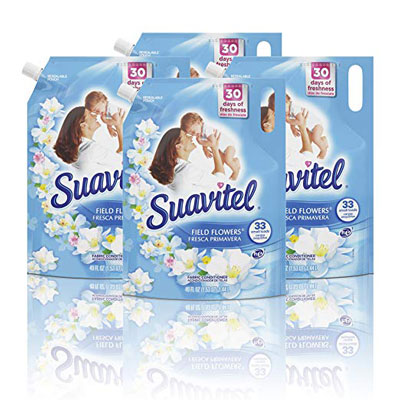 10. Suavitel Fabric Softener Stand Up Pouch (4 Pack)