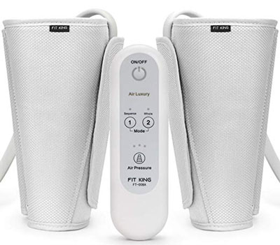 1. FIT KING Leg Air Massager for Circulation
