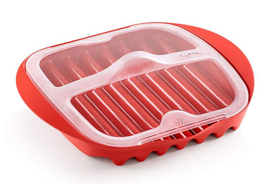 8. Lekue Microwave Bacon Maker/Cooker