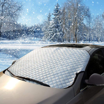 10. BESTTRENDY Windshield Snow Cover & Sun Shade Protector