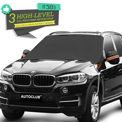 4. AUTOCLUB Car Windshield Snow Cover