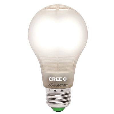 7. Cree A19 Dimmable LED Light Bulb (BA19-08027OMF-12CE26-1C100)