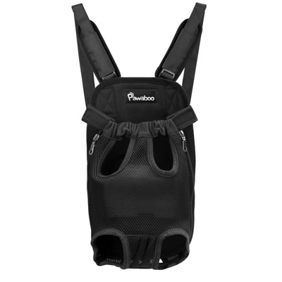 1. PAWABOO Pet Carrier Backpack for Traveling Hiking Camping