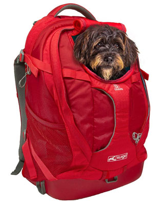 10. Kurgo Dog Carrier Backpack for Small Pets