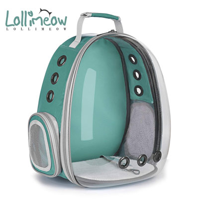 8. Lollimeow Pet Carrier Backpack