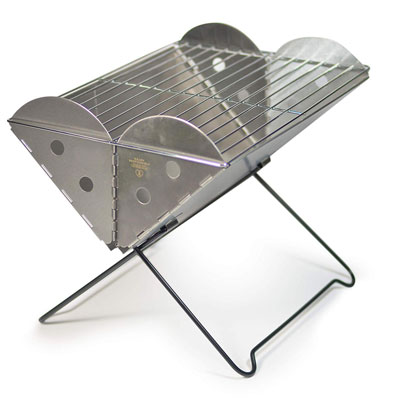 8. UCO Flatpack Portable Grill and Fire Pit