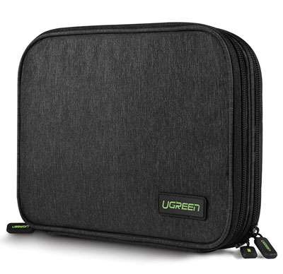 7. UGREEN Electronics Organizer Travel Cable