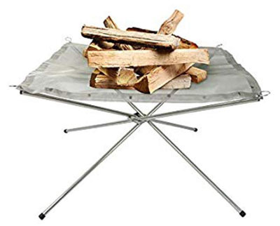 5. Rootless Large Portable Outdoor Fire Pit