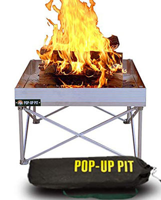 6. Campfire Defender Protect Preserve Pop-Up Fire Pit