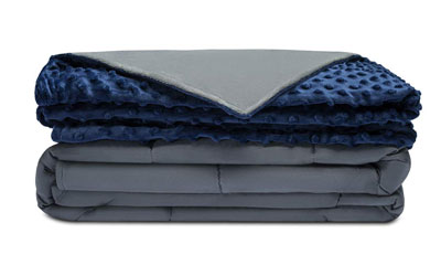 1. Quility Adult Weighted Blanket & Removable Cover