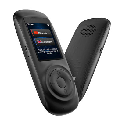 2. MORTENTR Smart Voice Translator with 2.4inch HD Touch Screen