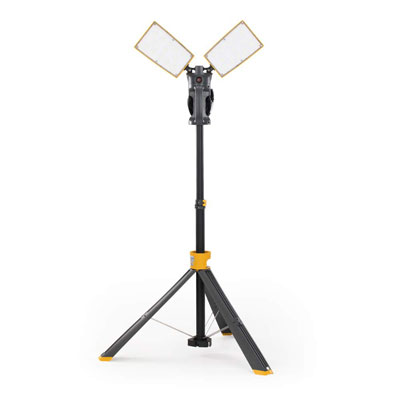 8. LUTEC 7000 Lumen 93 Watt LED Work Light