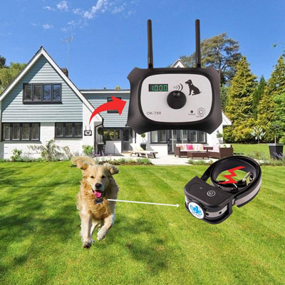 6. OKPET Wireless Dog Fence Containment System