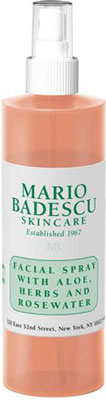 1. Mario Badescu Gentle Facial Spray with Rosewater Duo and Aloe Herbs