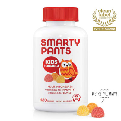 1. SmartyPants Vitamins Daily Gummy Vitamins 120 Count Gluten Free
