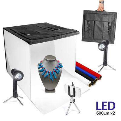 LimoStudio Light Ten Top Table Portable Photo Studio