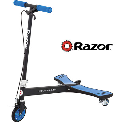 azor PowerWing Caster Scooter