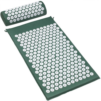 3. Sivan Health and Fitness Chronic Back and Sciatic Pain Treatment Acupressure Mat