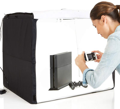 AmazonBasics Foldable Portable Photo Studio