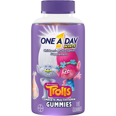 9. Once A Day Gummy Multivitamin 180 Count