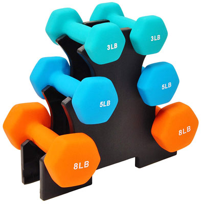 BalanceFrom All-Purpose GoFit Dumbbell Set