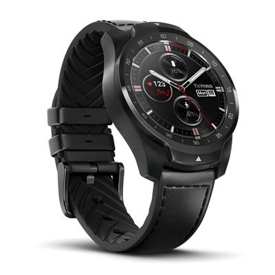 Ticwatch Pro Layered Display Premium Wear OS Smart Watch