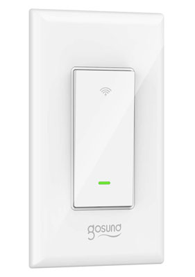 Gosund Smart Switch with Remote Control and Schedule