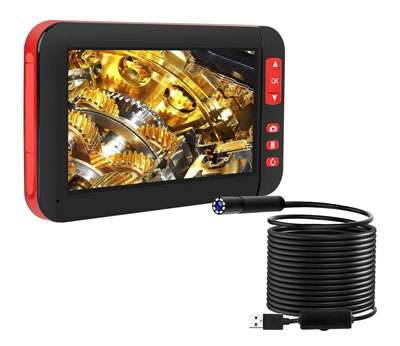 ILIHOME Professional Screen Endoscope Inspection Camera