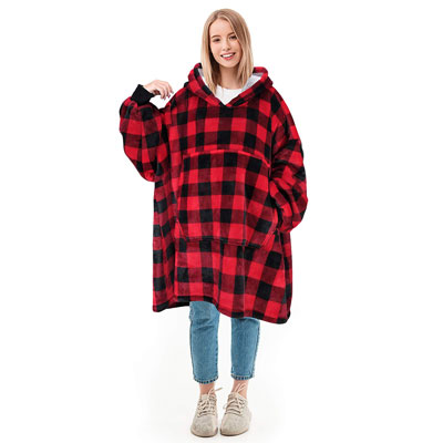 Solaris Oversized Blanket Sweatshirt